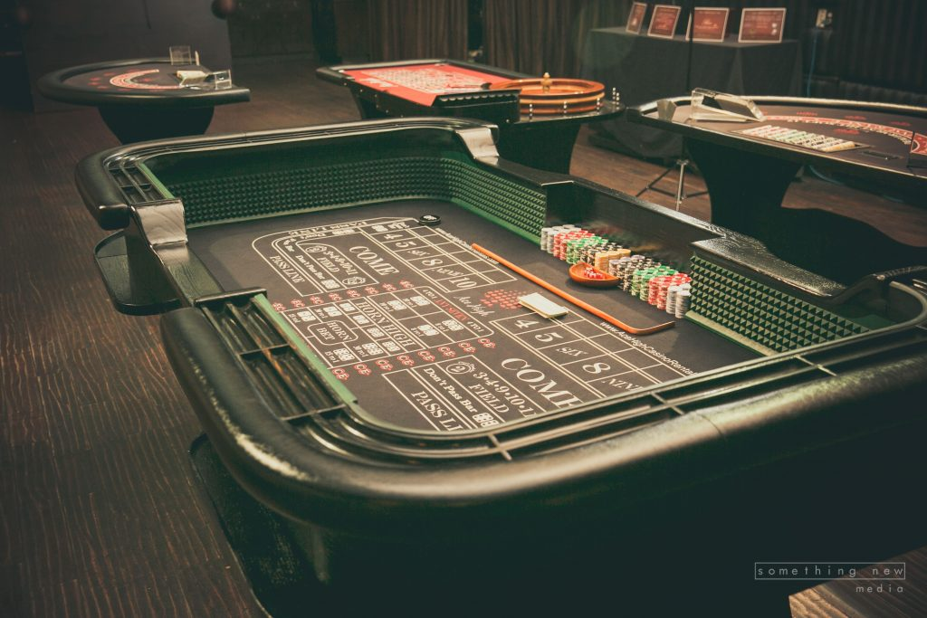 Ace High Casino Party Night Rentals Craps Table