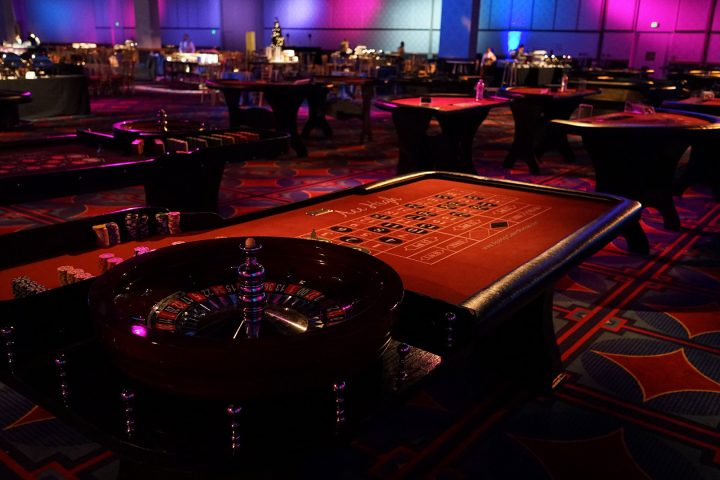 ace high casino party night rentals roulette table