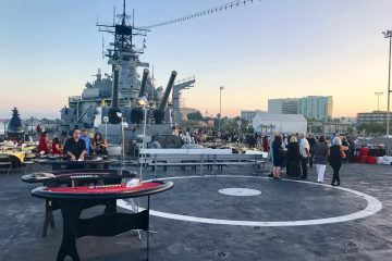 Ace High Casino theme party night Battleship fundraiser