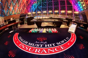 Ace High casino blackjack table rentals