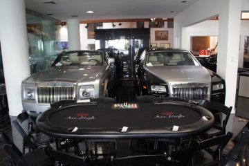 Ace High Casino Rentals party at Marconi Auto Museum
