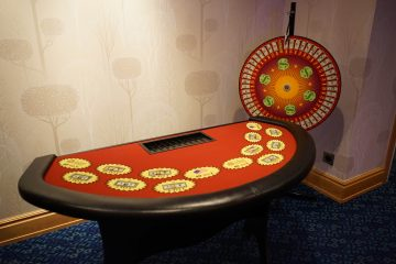 Ace High Wheel of Fortune table rentals - Disneyland Hotel - Access OC