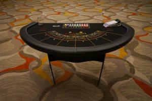Ace High Bacarrat table rentals